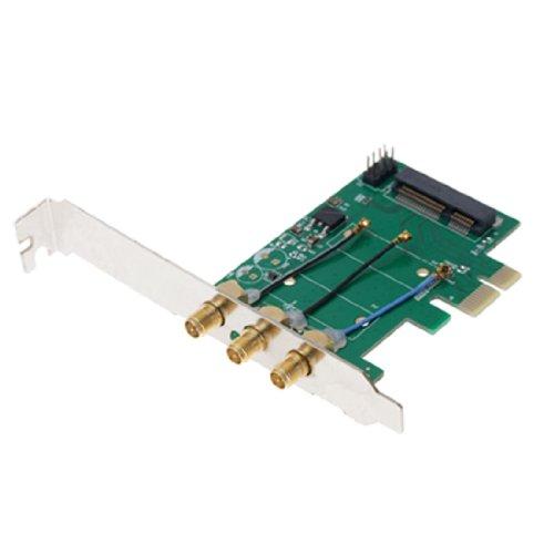 Computer Mini Pci-E To Pci-E Adapter Card Networking