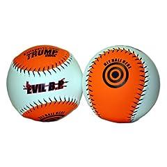 Buy 1 Dozen Evil Bp 12 Softballs - 44cor .400 Compression (AK-EVIL-BP) 12 Balls by Trump/Evil Sports