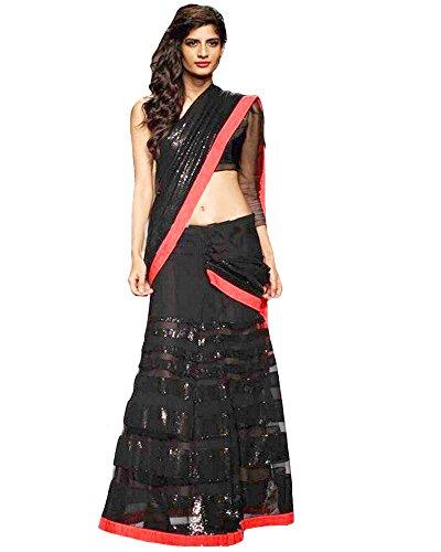 1342-lakme-black-net-saree