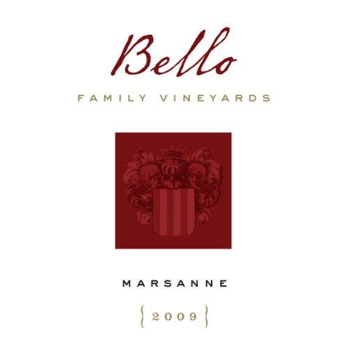 2009 Bello Family Vineyards Napa Valley Marsanne 750 Ml