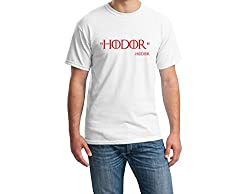 TeeforMe Hodor T-shirt White