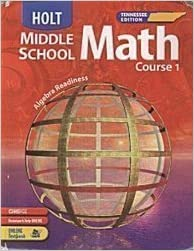 Holt mathematics course 2 homework help