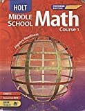 img - for Holt Middle School Math Course 1 Tennessee Edition book / textbook / text book
