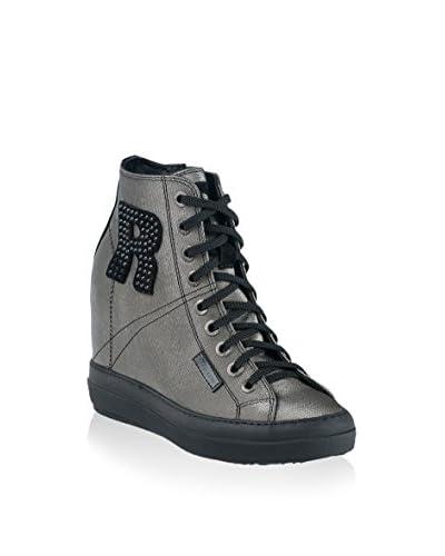 Ruco Line Zapatillas de cuña 4916 Tessil 68878