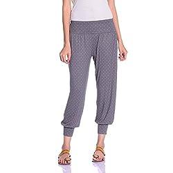 styleAVA Women's Trousers (LWR_01_GREY01_Grey_Medium)