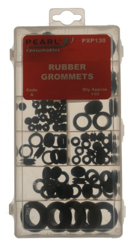 Pearl PXP130 Assorted Rubber Grommets (110 Pieces)