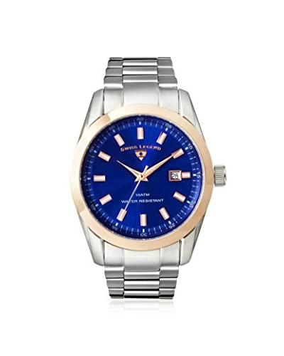 Swiss Legend Men's 21397-33-RB Classic Blue Stainless Steel Watch