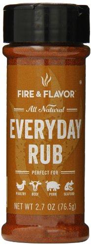 Fire & Flavor Spices Rub, Everyday Rub, 2.7 Ounce