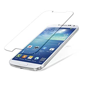 SNOOGG Samsung Galaxy S4 Premium Tempered Glass Screen Protector [ 2.5D Round Edge ] [ Easy Install ] [Anti Scratch ] [ HD ] - Protect your screen from Scratches & Drops - Maximize your resale value - 100% clarity and touch Screen Accuracy