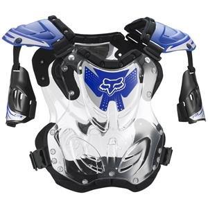 Fox Racing  Mens R3 Roost Deflector Blue Large L
