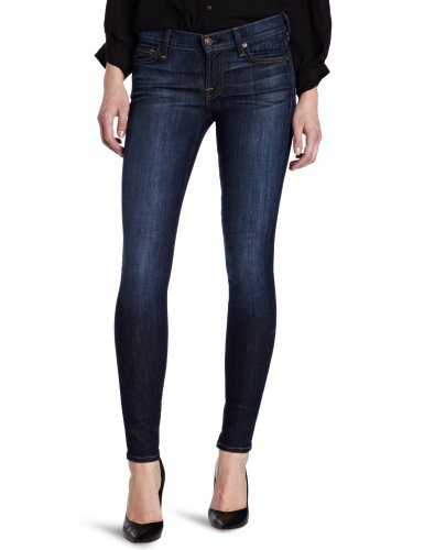7 For All Mankind Women's The Skinny Slim Fit Jean, Nouveau New York Dark, 27