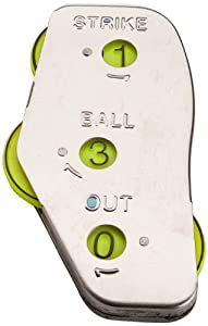 Buy Mpowered Baseball Three Function Angular Umpire Indicator (Metal) by M^POWERED BASEBALL