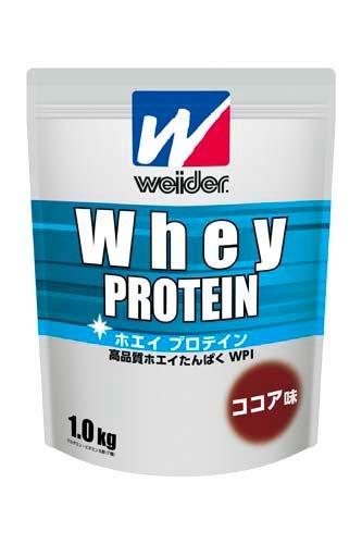 ウイダー ホエイプロテインココア味1.0kg