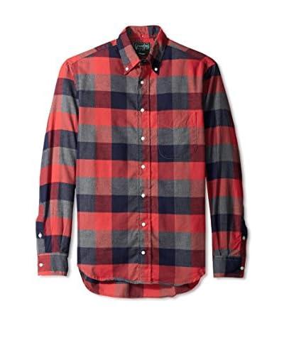 Gitman Vintage Men's Buffalo Check Button Down Shirt