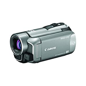 41a6VllZl5L. AA300  Canon VIXIA HF R10 Dual Flash Memory Camcorder with 8GB of Storage (silver)   $510