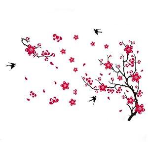 Bei Wang Plum Blossom Blume Baum Und Schwalbe V 246 Gel Wand