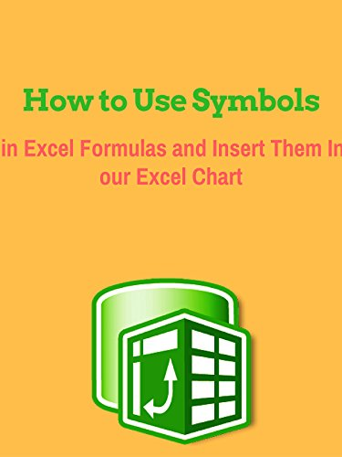 How to Use Symbols in Excel Formulas and Insert Them Into our Excel Chart