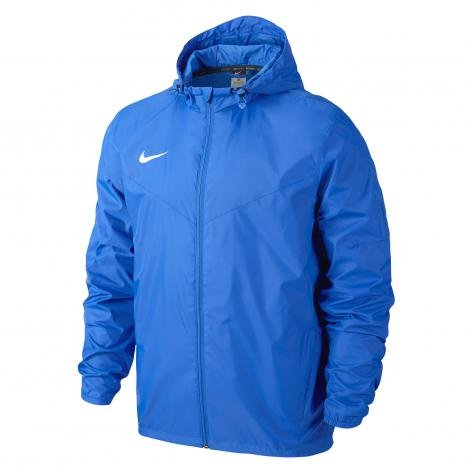Nike Giacca Impermeabile Team Sideline, Uomo, Jacke Sideline Team, Royal blu/bianco, M