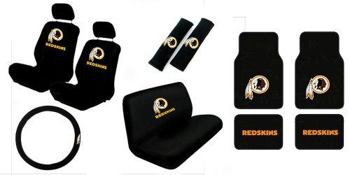 washington redskins seat covers price compare. Black Bedroom Furniture Sets. Home Design Ideas