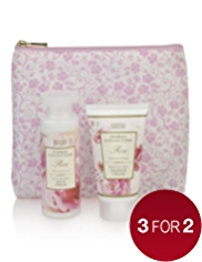 Floral Collection Rose Cosmetic Gift Purse