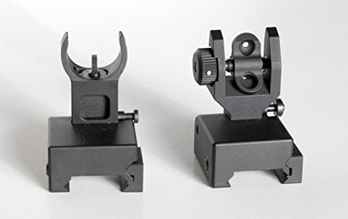 Learn More About OmegaTac Premium Flip Up Sight Set !! Fits All Picatinny Rails and Flattop's, Very ...