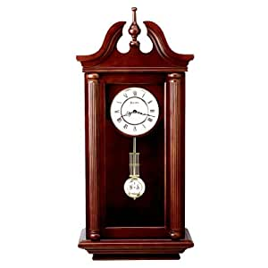 bulova manchester wall chime clock home kitchen