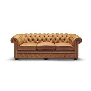 Click Clack Sofa Tahoepalominosl Brown Faux Leather Sofa