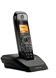 Motorola S2001I Cordless Phone|Black