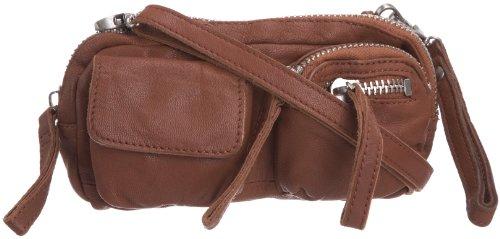 Jost Elements 3919-003, Unisex - Erwachsene Handtasche / Schultertasche, braun, mittelgroß