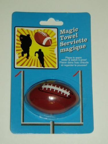Magic Towel Football Shaped 12""