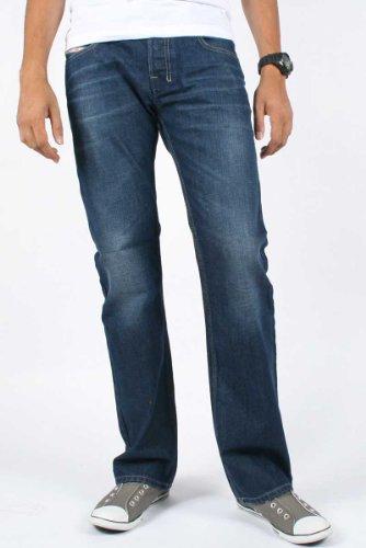 Diesel - Mens Zatiny 802D Denim Jeans, Size: 38W x 30L, Color: Denim