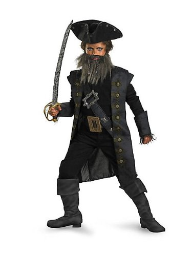 Black Beard Deluxe Child Costume