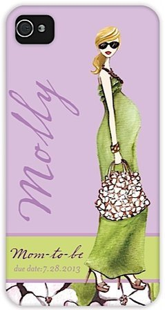 Mom To Be Blonde Iphone Case front-904072