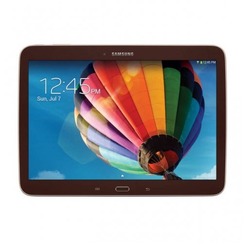 Samsung GT-P5210GNYXAR Galaxy Tab 3 - Tablet - Android 4.2 (Jelly Bean) - 16 GB - 10.1 inch TFT ( 1280 x 800 ) - rear camera + front camera - USB host - microSD slot - Wi-Fi, Bluetooth - brown gold