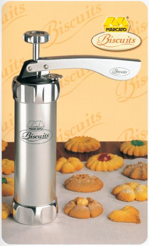 Marcato 8307 Deluxe Biscuit Maker (Metal Cookie Press compare prices)