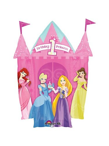 Disney Princess 1st Birthday Shape (Each)