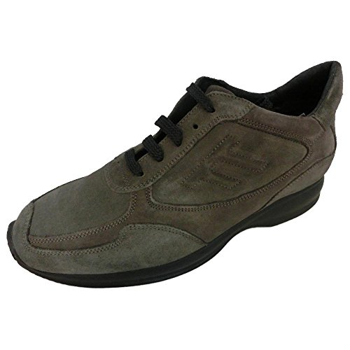 Soldini made in italy Scarpe Sneaker interactive Uomo Mens an62 Verde (43)