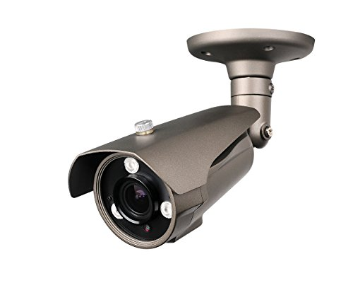 """Hq-Cam® 700Tv Lines High Resolution Security Outdoor/Indoor Weatherproof Camera 1/3"""" Sony Ex-View Ii Ccd 3Ir Matrix Infared Leds 2.8~ 12Mm Vari-Focal Lens Cctv Day And Night Ir Distance:120Ft"""