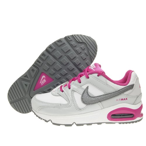 NIKE AIR MAX COMMAND PS 412233 111 MÄDCHEN MODA SCHUHE 1 Y US - 32 IT