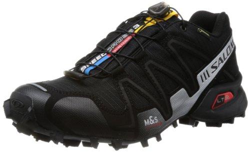 Salomon Speedcross 3 GTX, Scarpe sportive, Uomo, Multicolore (Black/Black/Si), 44