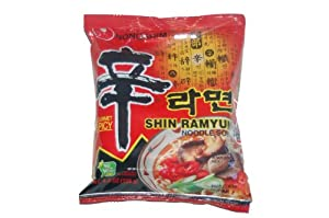 Nong Shim Shin Ramyun Noodle Soup Gourmet Spicy Pack Of 20 from Nong Shim