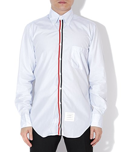 wiberlux-thom-browne-mens-striped-placket-buttoned-collar-shirt-1-blue