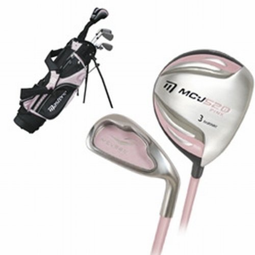 Masters MC-J520 Girls Half Set 6-8 - Pink Right Hand Graphite Junior