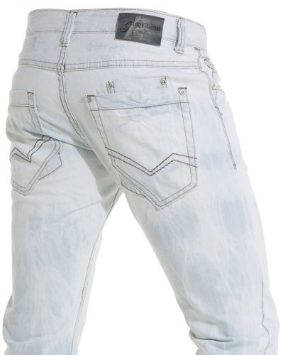 Gov denim - Man blue jeans fashion trend and - Color: Blue Size: Fr 36 US 29