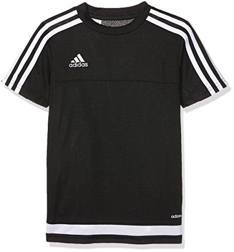 Adidas-Maglietta per bambini, stile Casual multicolore  Multicolore nero/bianco 152