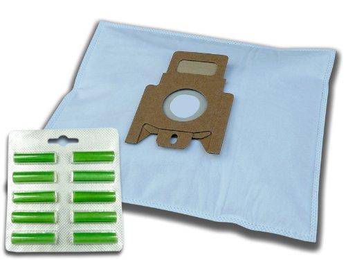 10 Staubsaugerbeutel 10 Duft grün für Miele S5781 S 5781 S5 EcoLine green