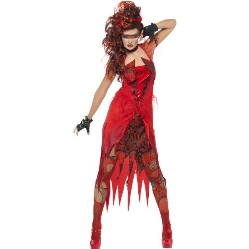 ★2011年新作☆【Smiffy's】 七つの大罪 - 怒りのドレス、チョーカー SMI-21519S