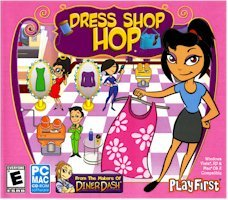 New Selectsoft Publishing Dress Shop Hop OS Windows Macintosh 2 Game Modes Career Endless Shift