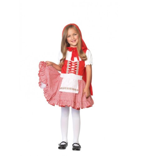 Lil Miss Red Costume - Small