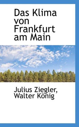 Das Klima Von Frankfurt Am Main